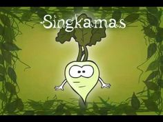 Bahay Kubo Animated Philippine Folk Song - This is a folk song taught to Philipino children about vegetables. The melody is catchy and it is a fun way to learn the names of  vegetables in a different language.