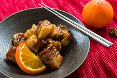 If you like orange chicken, you're gonna love this orange-spice braised pork belly! Melt-in-your-mouth tender and glazed with a sweet and savory sauce, you'll be tempted to eat the whole batch straight out of the pot. Hit the link below to get my full post and recipe over at PBS Food this week.