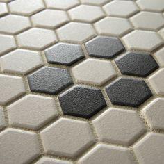 "EliteTile New York 7/8"" x 7/8"" Porcelain Unglazed Mosaic in Antique"
