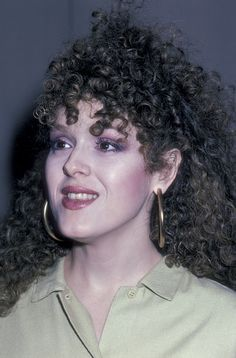 Bernadette Peters attends Valentine's Day Party on February 13 1986 at Martin Poll's home in New York City