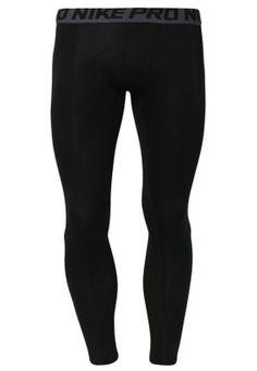 PRO DRY  - Tights - black/dark grey Cool Tights, Black Tights, Nike, Dark Grey, Fitnesstraining, Pants, Fashion, Black Stockings, Trouser Pants