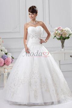 Comprar vestidos de novia de corte princesa de cordón de sin mangas de manzana de escote corazón, Modao.es te ofrece Vestidos de Novia más adecuado