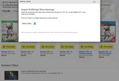 Will you be attending Best Buy, or GameStop's midnight release for Madden 15?