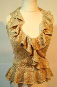 WOMENS  Sweaters Luisa Spagnoli = SIZE S Beautiful #tumbrl#instagram#avito#ebay#yandex#facebook #whatsapp#google#fashion#icq#skype#dailymail#avito.ru#nytimes #i_love_ny     gold #LuisaSpagnoli #Bolero