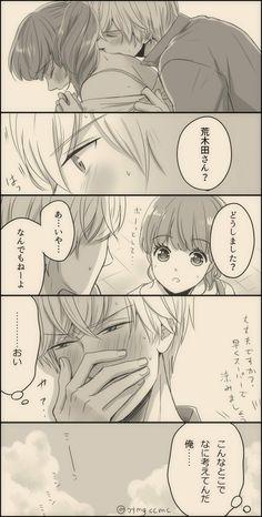 Romantic Anime Couples, Romantic Manga, Cute Anime Couples, Anime Couples Drawings, Anime Couples Manga, Manga Anime, Anime Love Couple, Manga Couple, Kawaii Anime