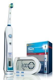 Oral-B Professional Care SmartSeries 5000 Electric Rechargeable Power Toothbrush with SmartGuide