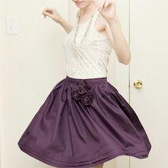 DIY party skirt