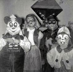 Vintage Trick Or Treaters, Including Andy Pandy