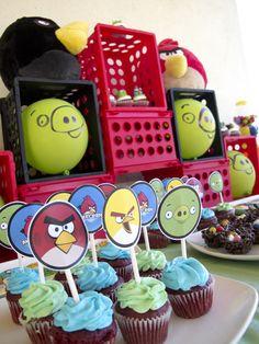 angry birds- nephews love them