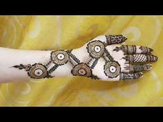 Gulf henna design #4 - YouTube