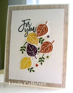 Stampin' Seasons: Stamp Review Crew: Thoughtful Branches