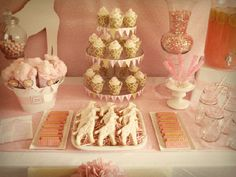 Pink Giraffe themed baby shower!!