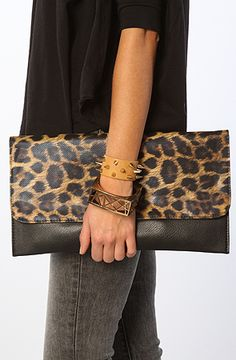 The Leopard Clutch by *Accessories Boutique #MissKL #SpringtimeinParis