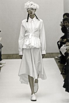 Tao for Comme des Garçons, dress from the Shirts and Weddings collection, Spring–Summer 2007
