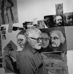R.B. Kitaj  © Lee Friedlander, courtesy Fraenkel Gallery, San Francisco