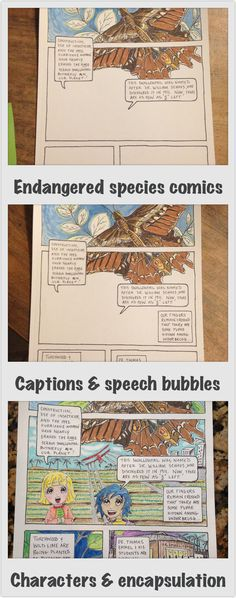 Designing an endangered species comics page for end of year visual narrative problem solving assignment Middle School Art, Art School, School Stuff, Teaching Art, Teaching Resources, Teaching Ideas, Classroom Inspiration, Classroom Ideas, Class Projects