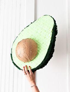 Avocado Piñata DIY: cinco de mayo party | Pinterest: Natalia Escaño