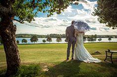 #wedding #love #umbrella #lace #swedishbride