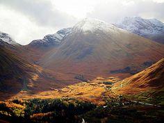 Autumn in Glen Coe, Scotland