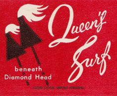 Queen's Surf Hawaii by hmdavid, via Flickr