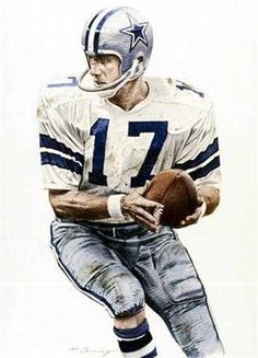 Dandy Don Meredith, Dallas Cowboys by Merv Corning