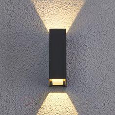 Applique d'extérieur LED Maisie en aluminium