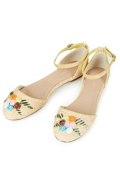 78ea6c6b406a MATILDA Woven 2 Part Shoes - Flat Sandals - Flats - Shoes - Topshop Shoes  Flats