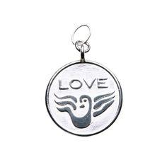 Love & Hope Anhänger - Love auf der Vorderseite.