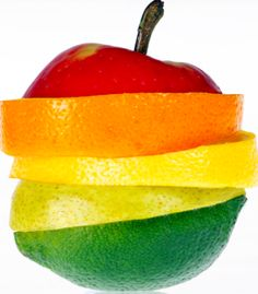 apple orange lemon pear lime