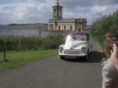 Beautiful Normanton Church on Rutland Water and my gorgeous car xx
