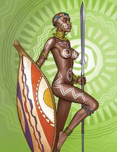 """""""Amazon Warrior by Lipatov"""
