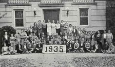 Ina Frances Bradley, class of '35. Passed away on July 18, 2011 at the age of 97. Featured here with her Sweet Briar class. http://www.wheeler-woodlief.com/obituaries/Ina-Bradley/#!/Obituary