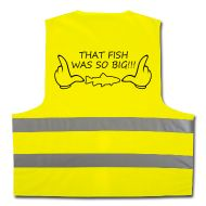 Going fishing? If high visibility vest required, why not to wear this funny one!?