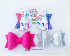 Get Magic Unicorn Set of bows - s/s 2017 Now ! Only few of these available.  Purchase it here  [product-url