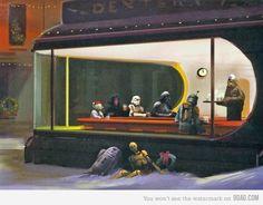 Nighthawks Star Wars style