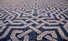 Resultado de imagem para calçada à portuguesa contemporânea