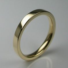 Times Square Wedding Ring in 18 Carat Yellow Gold - Womens Wedding Rings London by Stephen Einhorn