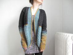 Le Scarabée Bleu pattern by La Maison Rililie. FO by gitagirl on ravelry. #knitting #pattern #knitindie