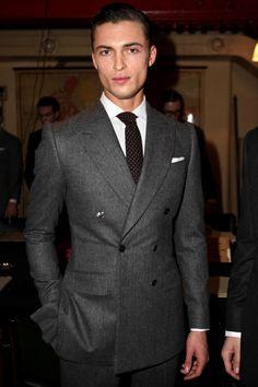 Savile Row, Woolmark & St James's – Collection Homme Automne/Hiver 2014 – Londres Gentleman Mode, Gentleman Style, Mens Fashion Suits, Mens Suits, Suit Men, Sharp Dressed Man, Well Dressed Men, Savile Row, Suit And Tie