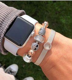 >>>Pandora Jewelry OFF! >>>Visit>> jewelry box stackers letter charm necklace philip stein bracelet www. Pandora Bracelet Charms, Pandora Jewelry, Pandora Pandora, Pandora Leather Bracelet, Apple Watch Accessories, Fashion Accessories, Women Accessories, Cute Jewelry, Stud Earrings
