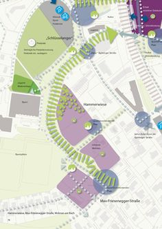 Teilraumgutachten Katharinenvorstadt: Entwicklungsszenarien Teilbereich Hammerwiese, © Schober Architekten Architektur + Stadtplanung