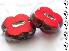 Table-Cut Czech Beads 12 mm