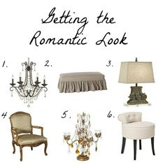 Classically Romantic Home Accessories
