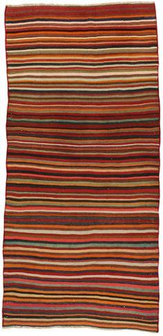 carpetu2.de -  Qashqai - Kelim 292x139 Teppich-Code: klm2196-302 Größe: 292x139 cm , 305€