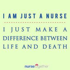 I'm Just a nurse....
