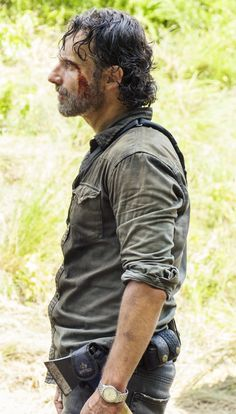 Ricky Dicky, Southern Men, Andy Lincoln, Walking Dead Tv Show, Walk The Earth, Series Movies, Tv Series, Carl Grimes, Dead Inside