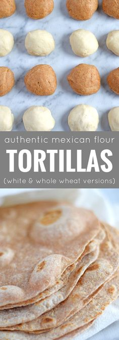 These Authentic Mexican Flour Tortillas are extremely versatile, made with 4 ingredients, dairy free and vegetarian friendly. They are way better than store-bought and can be used to make burritos, wraps, quesadillas, tacos and more!