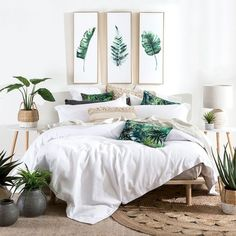 Bedroom decor, modern luxury bedroom и tropical furniture. Modern Luxury Bedroom, Modern Bedroom Furniture, Luxury Home Decor, Contemporary Bedroom, Luxurious Bedrooms, Home Decor Bedroom, Interior Design Living Room, Bedroom Ideas, Modern Bedrooms