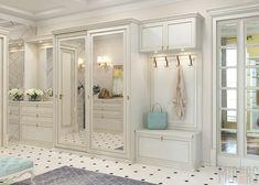 home decor recibidor 26 , 1 Mr. Bedroom Closet Design, Home Room Design, Closet Designs, Home Bedroom, Home Interior Design, Living Room Designs, Bedroom Decor, House Design, Hall Interior