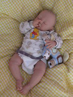 Reborn baby boy heirloom dollSofie sculpt by by simplysweetbundles, $250.00